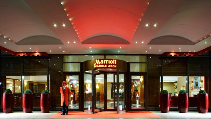 Central London Event Venue Space London Marriott Hotel Marble Arch