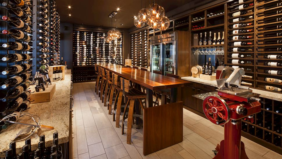 Marina Kitchen Restaurant & Bar - Wine Room