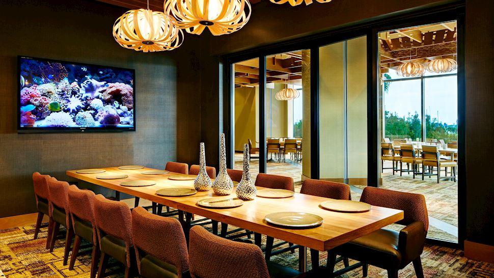 Marina Kitchen - Den Private Dining Room