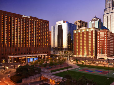 The Kansas City Marriott Downtown in the heart of all the city