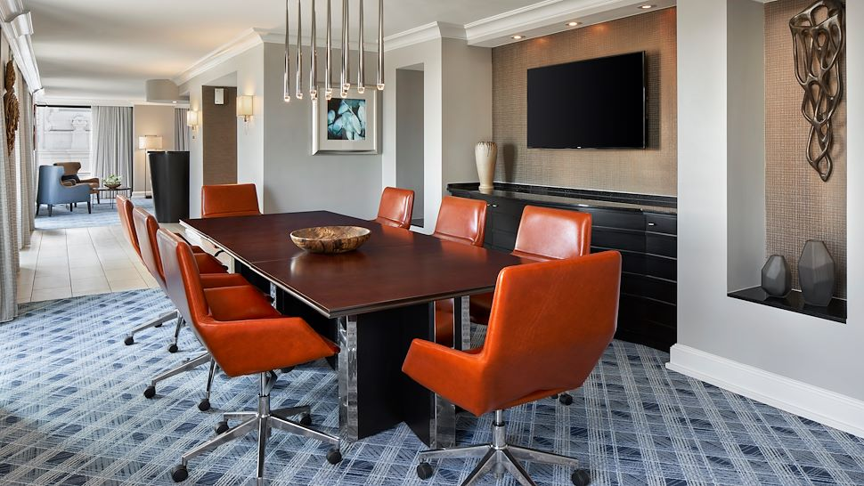 Presidential Suite Conference Table
