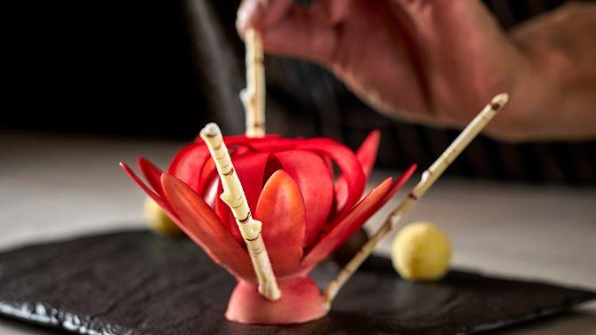 Dessert Flower Pastry