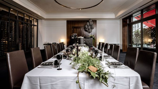 Private Dining Room Set-up
