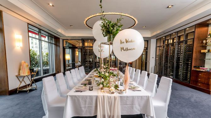 The Wine Room Wedding Reception