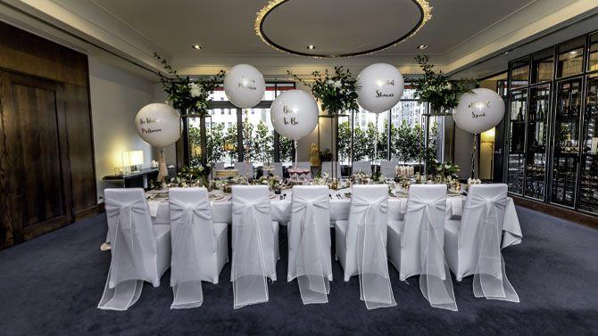 wedding high tea celebration