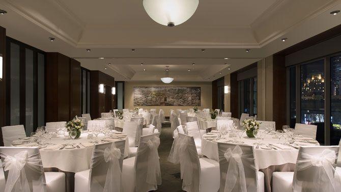 westin iii room banquet set-up
