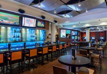 Miami sports bar.