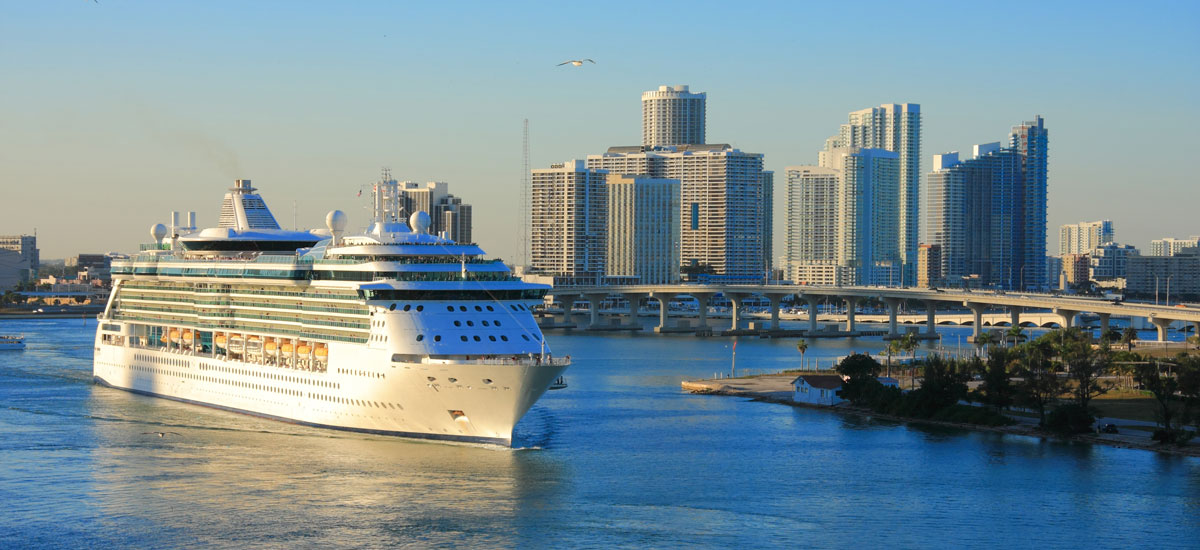 Set sail in and enjoy a beautiful post or pre-cruise stay at Courtyard Miami Coral Gables