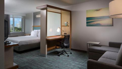 Port of Miami Hotel | SpringHill Suites Miami Downtown