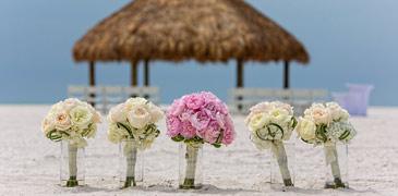 South Florida beach wedding venues.