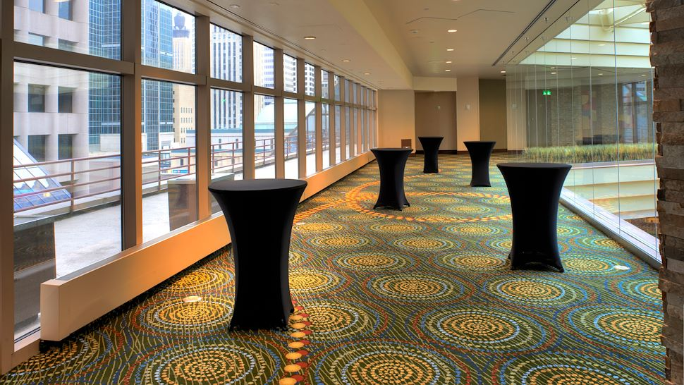 Pre-Function Area Reception Setup