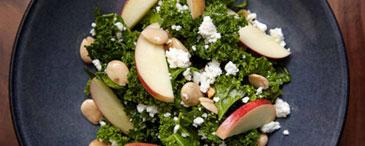 Torn Kale Salad at Cedar  Stone, Urban Table