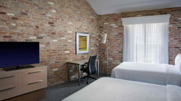 One-Bedroom Double/Double Suite