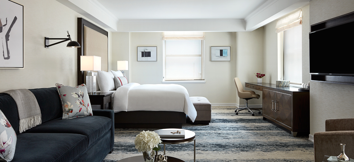 Luxury Suites In New York City Jw Marriott Essex House New York