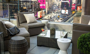 Broadway Lounge Opens Outdoor Patios Overlooking Times Square!