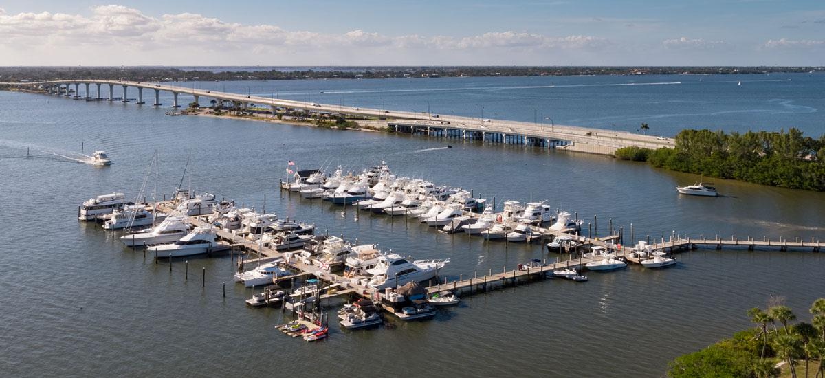 Florida boat slips for rent.