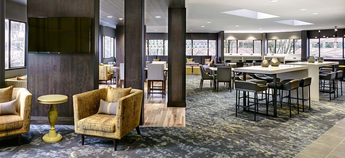M Club Lounge at the Portland Downtown Marriott