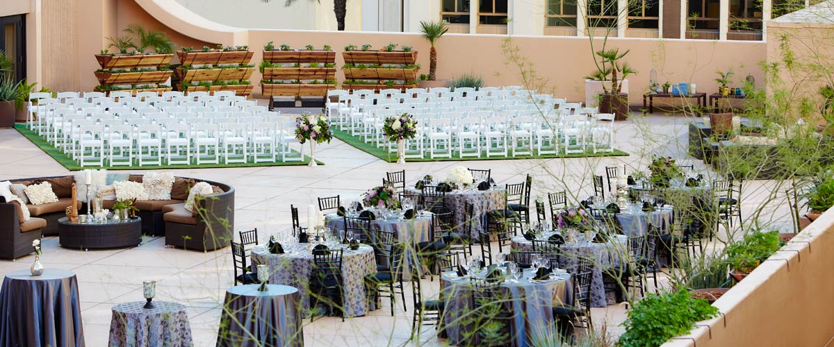 Wedding Venues In Phoenix.Rooftop Wedding Venues In Phoenix Renaissance Phoenix Downtown Hotel