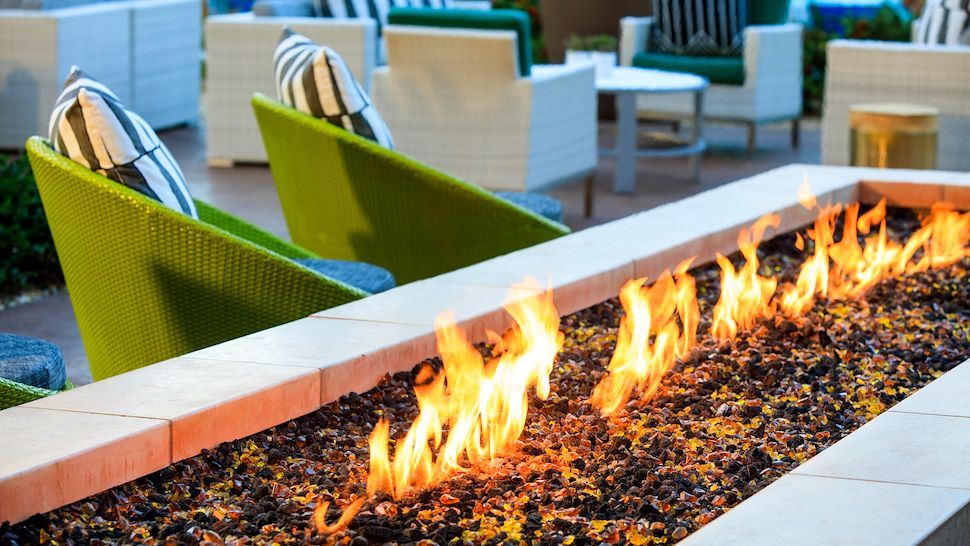 Get Toasty on the Rocks Patio