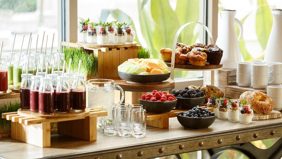 Coffee Break - Breads, Fruit & Smoothies