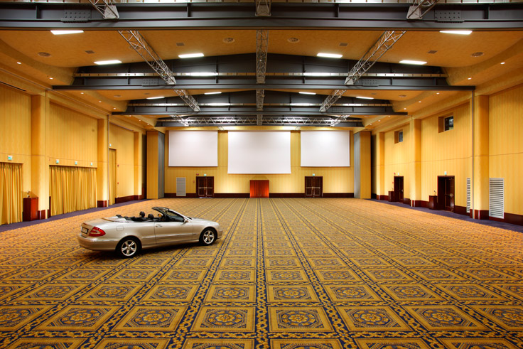 Rome conference hotel's event space