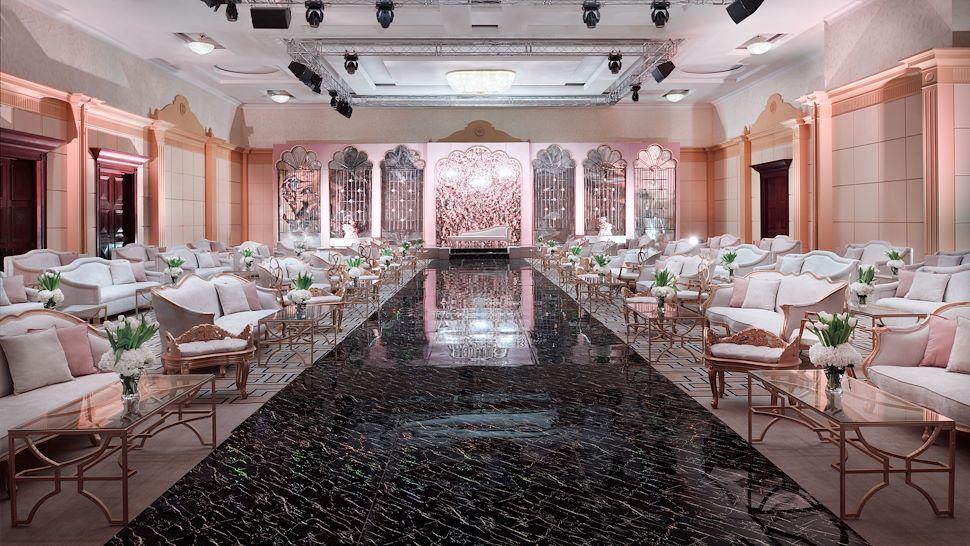 Marriott Convention Center Wedding Setup