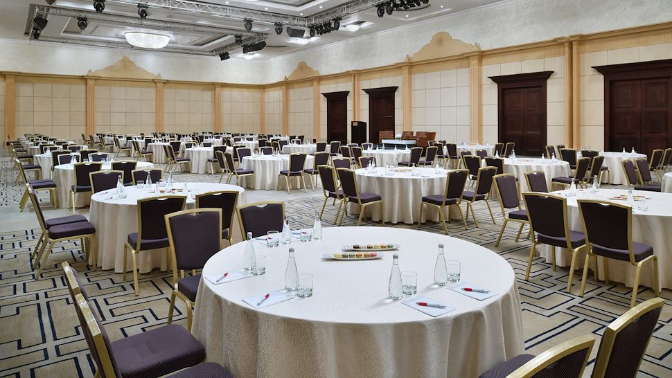 Marriott Convention Center Round Table Setup