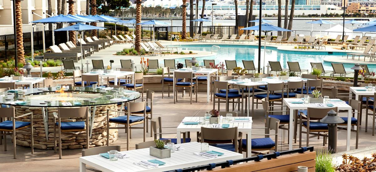 Hotel Restaurant In Coronado Coronado Island Marriott