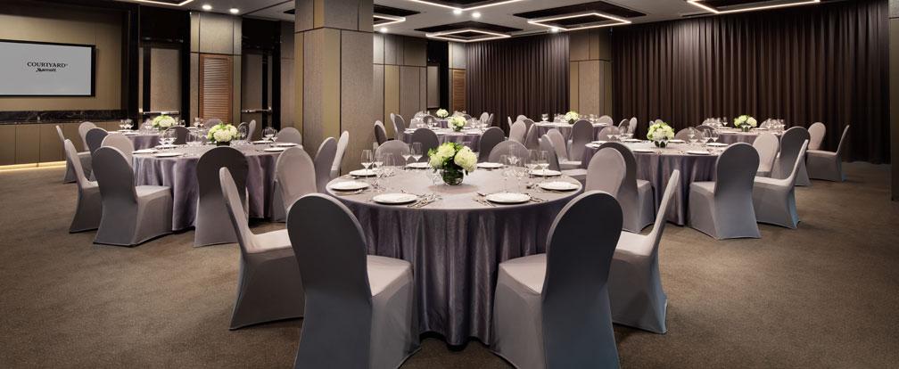 Hanyang 1+2 - Banquet Setup