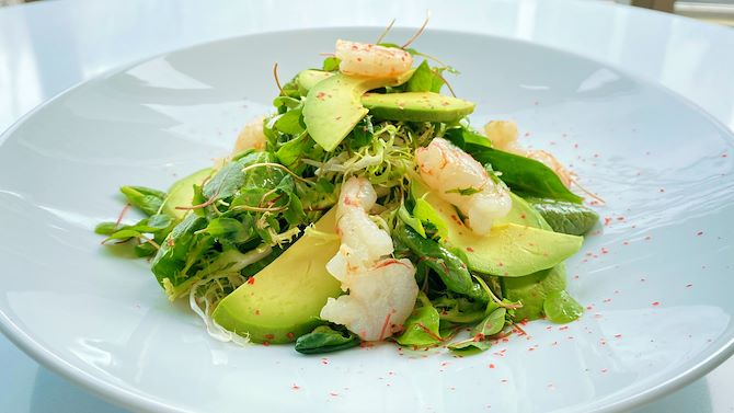 Argentinian Prawn Avocado Salad