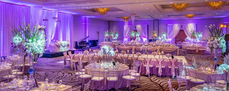 San Jose Ballroom - Wedding Setup