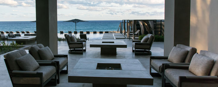 Mayma Bar Seating Area - Outdoor