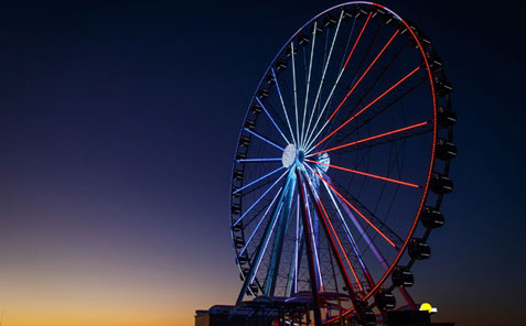National Harbor's Capital Wheel attraction