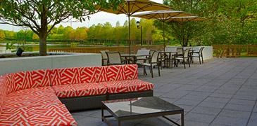 Outdoor dining Gaithersburg, MD