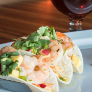 Shrimp Tacos at [catch] URBAN GRILL