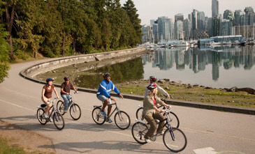 Seawall at Stanley Park