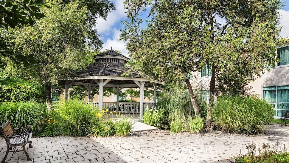 Outdoor Gazebo and Gardens. Wonderful for ceremonies