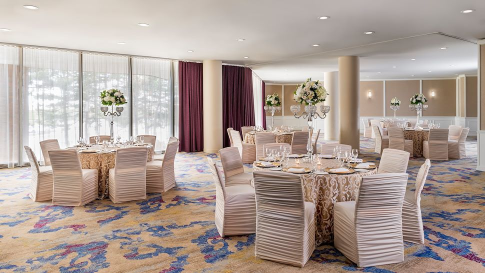 Plaza Room - Banquet-Style Setup
