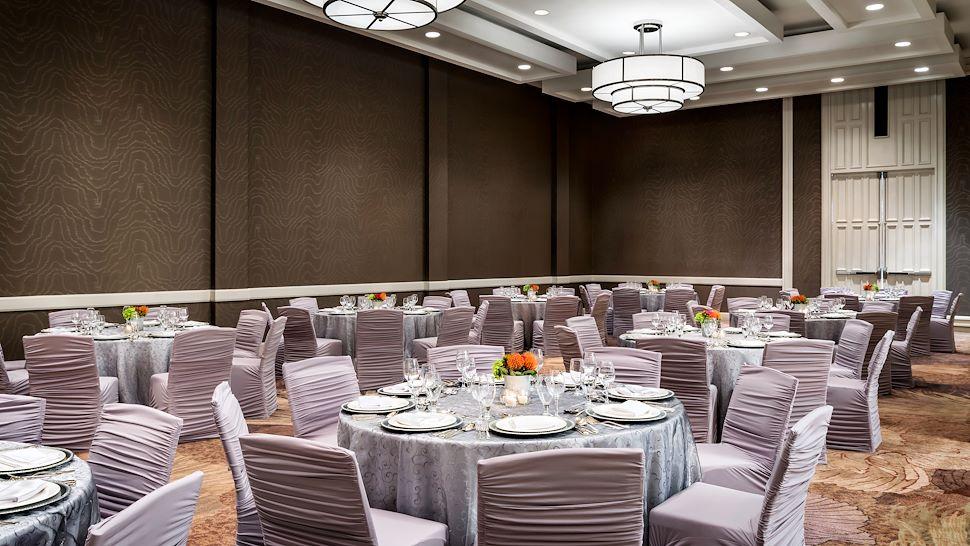 Sutton Ballroom - Banquet-Style Setup