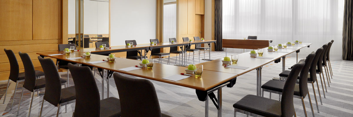 Schillersaal Meeting Room - U-Shape Setup