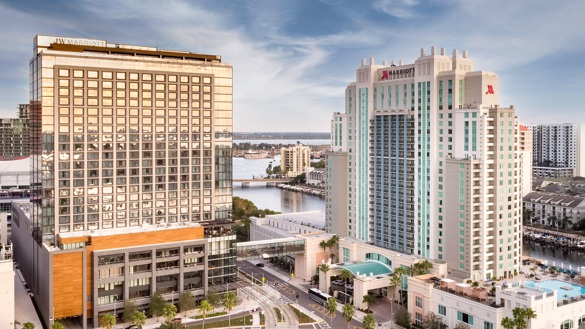 Tampa Hotels in Florida   Marriott Water Street Tampa Collection